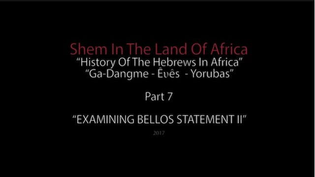 Shem In The Land Of Africa 7