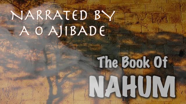 THE BOOK OF NAHUM by A O AJIBADE OUSCA AOA