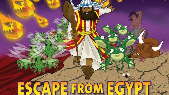 1. Escape from Egypt (Moses and the T...