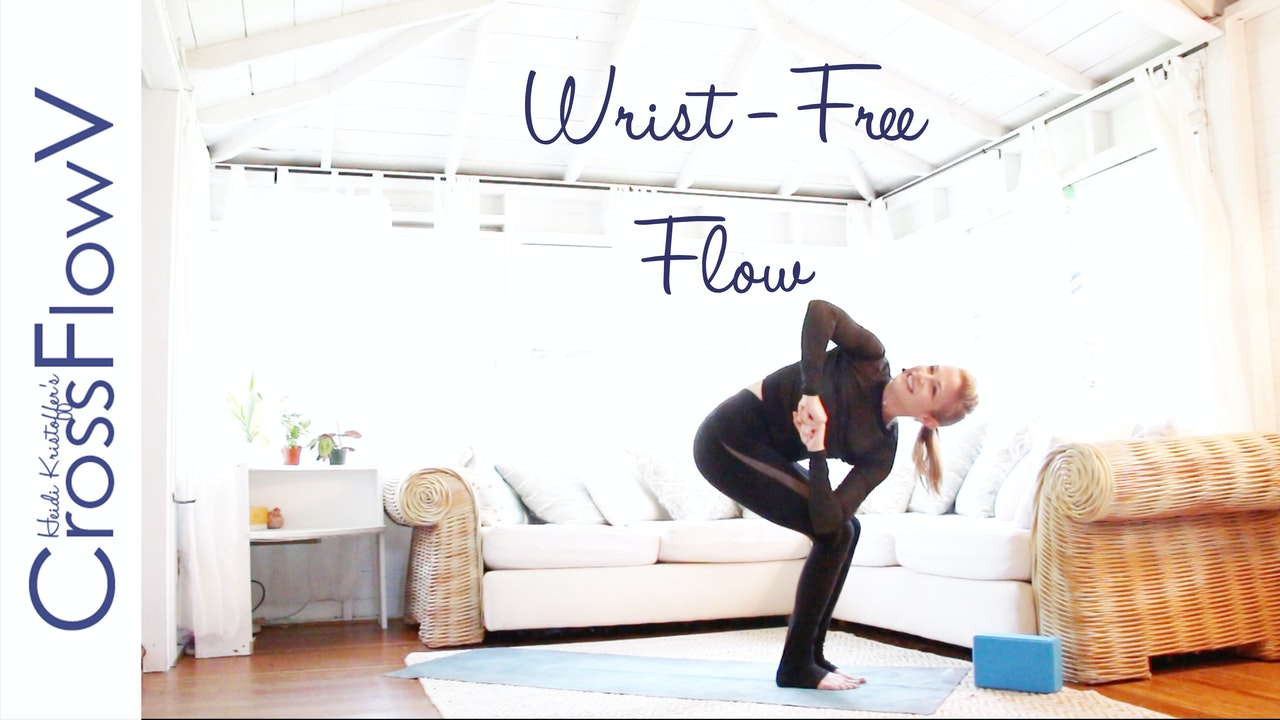 CrossFlowV: Wrist-Free Yoga Flow