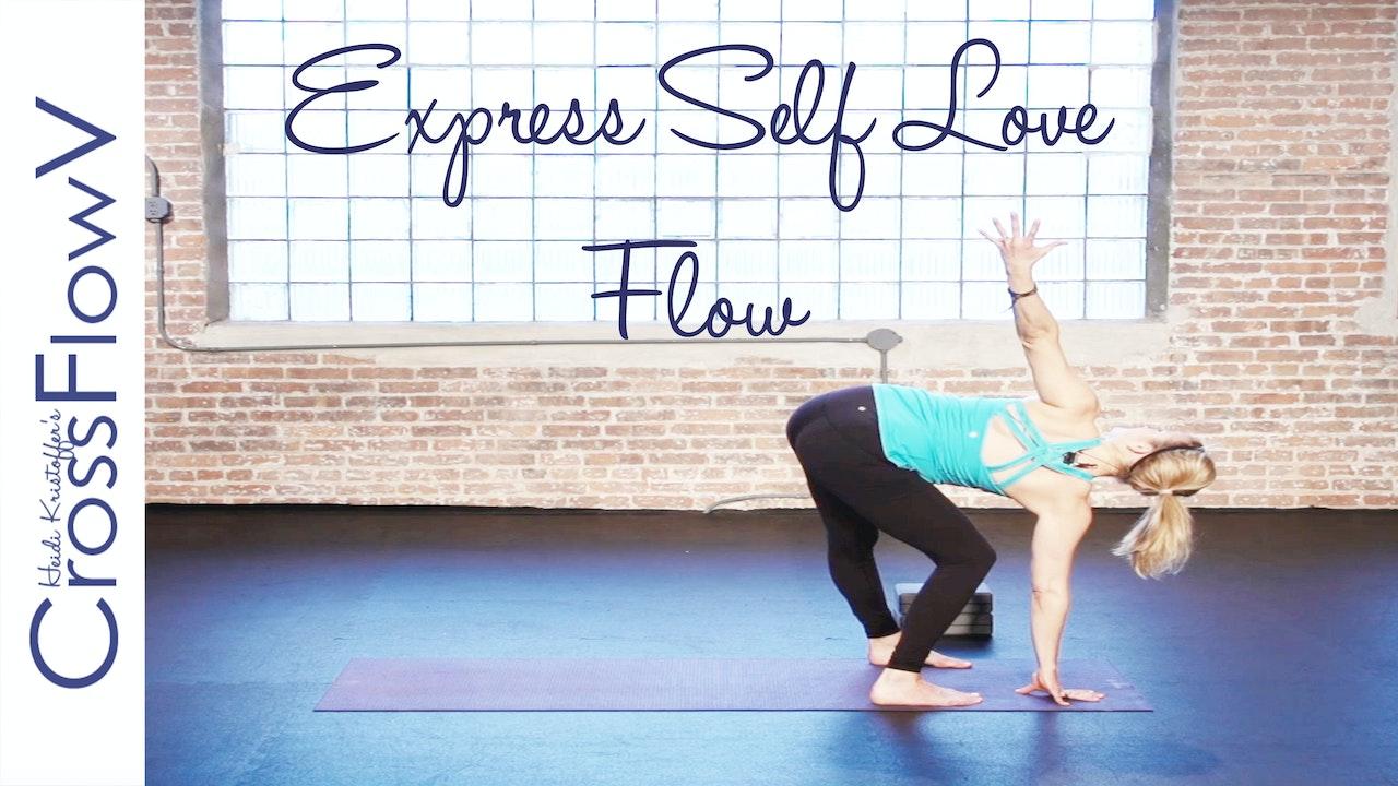 CrossFlowV: 5-Minute Express Self Love Flow