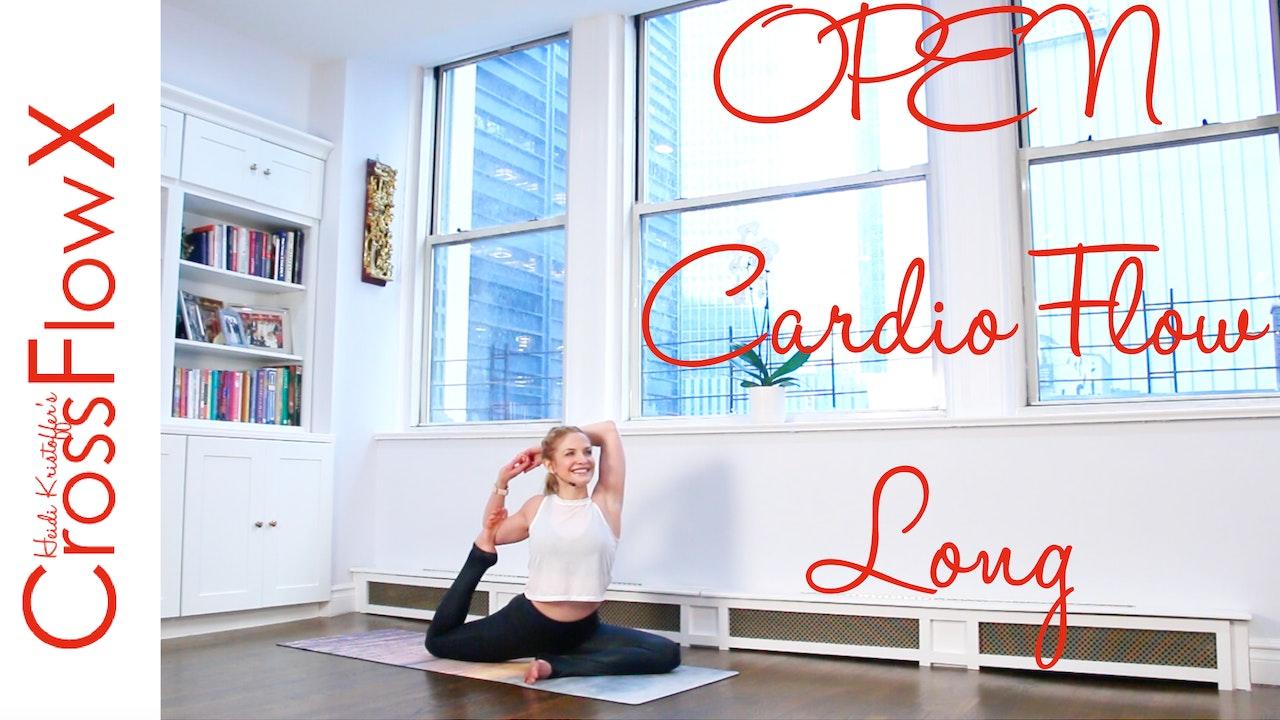 CrossFlowX™: OPEN Cardio Flow: Long