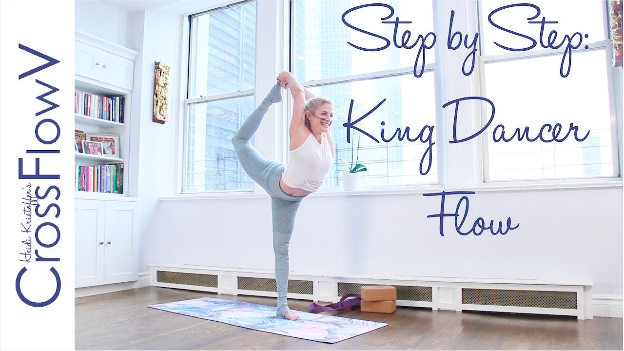 CrossFlowV: Step By Step King Dancer Flow
