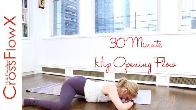 CrossFlowX™: 30-minute Hip Opening