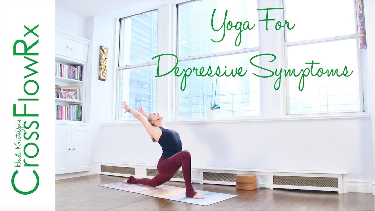 CrossFlowRx: Yoga for Depressive Symptoms with Dr. Rachel Goldman