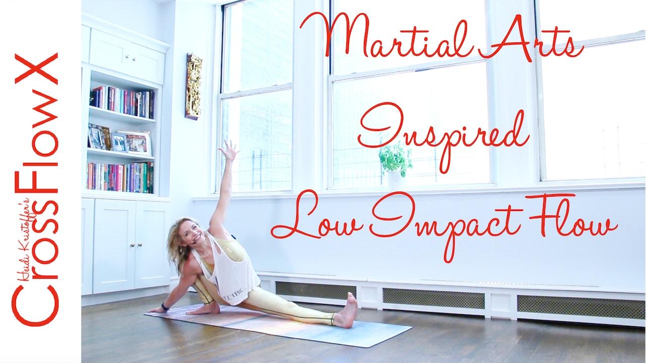 CrossFlowX™: Martial Arts Inspired Low Impact Cardio Flow