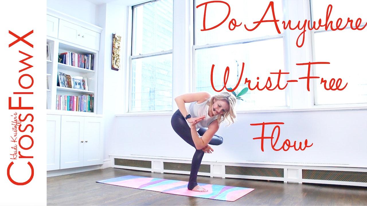 CrossFlowX™: Do Anywhere Wrist-Free Flow