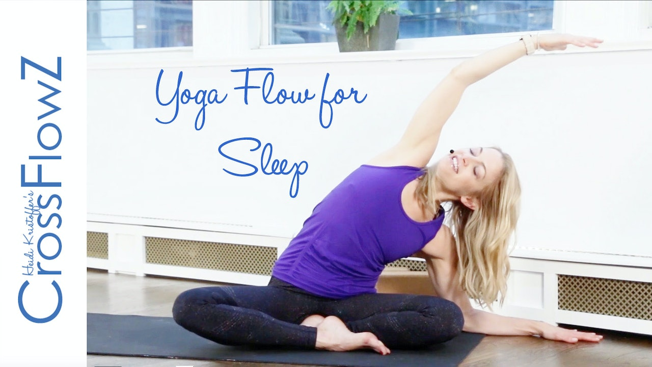 CrossFlowZ: Yoga Flow for Sleep