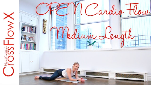 CrossFlowX™: OPEN Cardio Flow: Medium Length