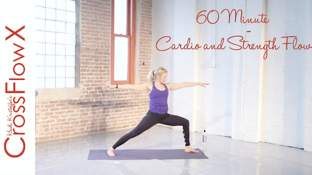 CrossFlowX™: 60 minute cardio + strength flow