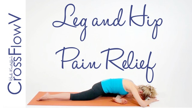 CrossFlowV: Leg + Hip Relief