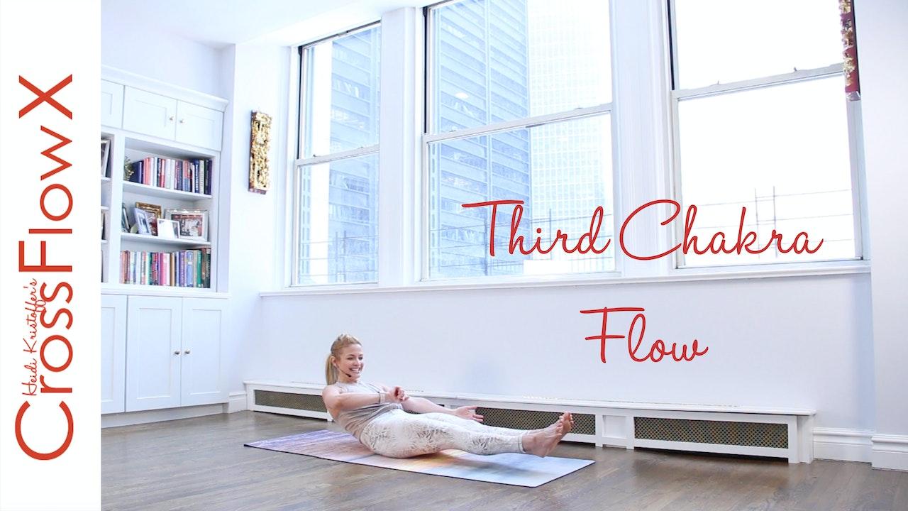 CrossFlowX™: 3rd Chakra Cardio Flow