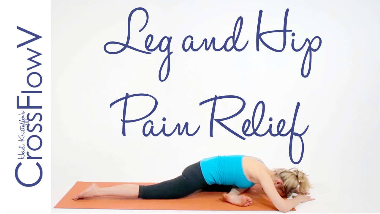 CrossFlowV: Leg + Hip Relief