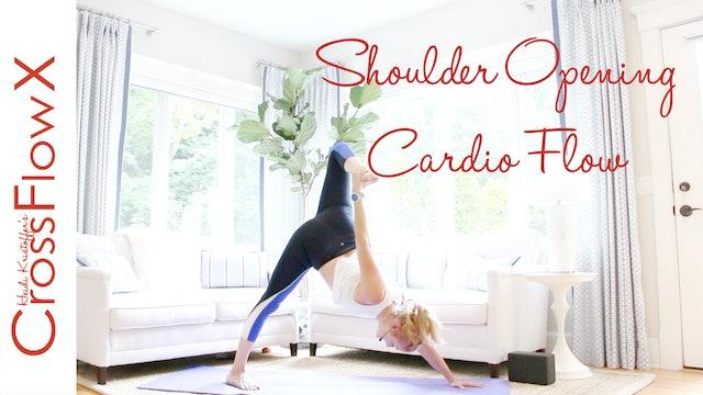 CrossFlowX™: Shoulder Opening Cardio Flow