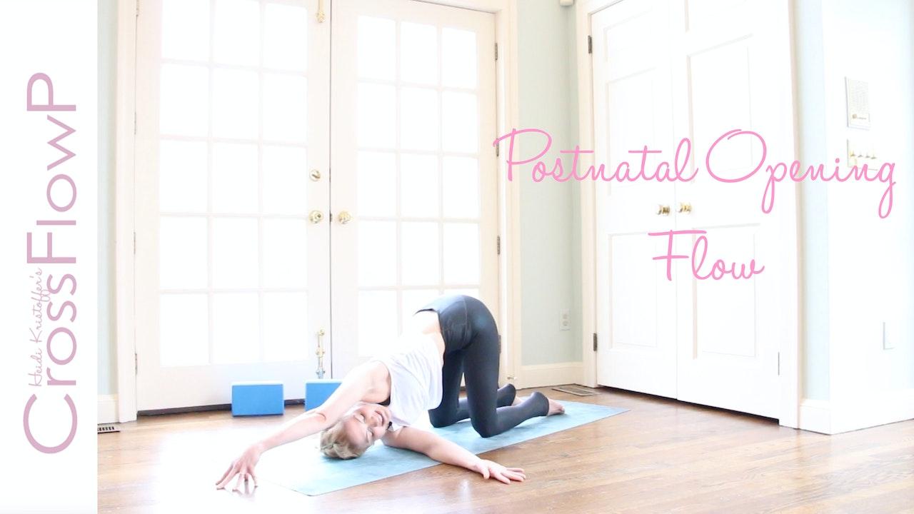 CrossFlowP: Postnatal Opening