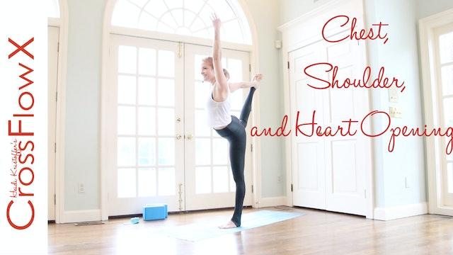 CrossFlowX: Shoulders, Chest + Heart
