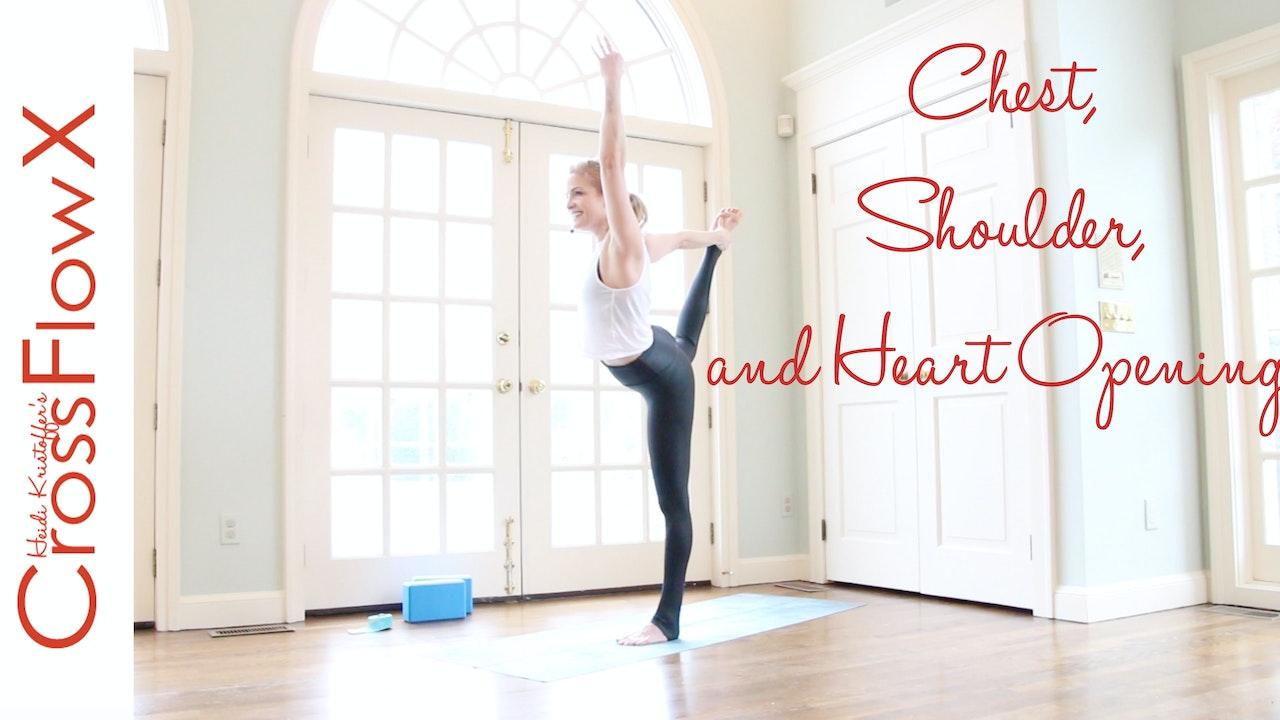 CrossFlowX™: Chest, Shoulders and Heart