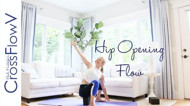 CrossFlowV: Hip Opening Flow