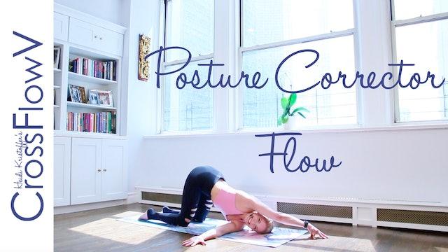 CrossFlowV: Posture Corrector Flow