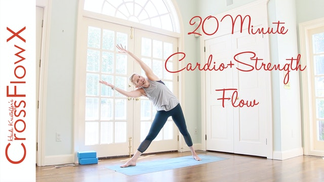 CrossFlowX™: 20 Minute Strength + Cardio Flow