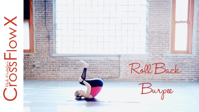 CrossFlowX™ Roll-Back Yoga Burpee