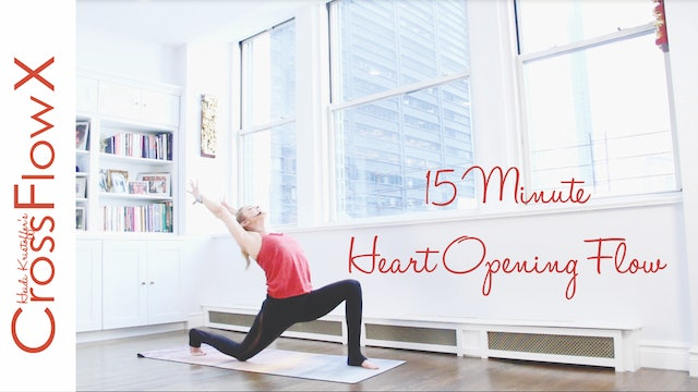CrossFlowX™: 15-Minute Heart Opening Flow