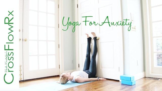 CrossFlowRx: Yoga for Anxiety