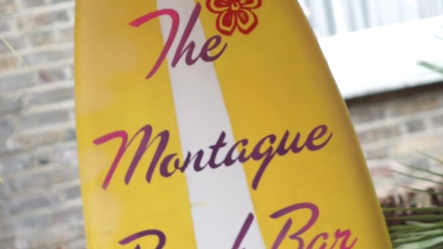 The Beach Bar at The Montague on the ...