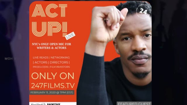 ACT UP! featuring NATE PARKER