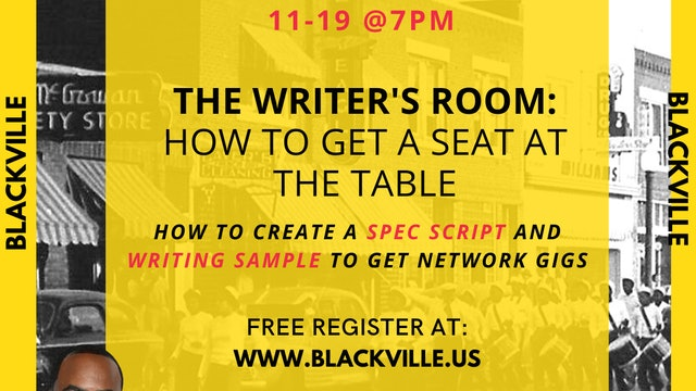 Town Hall Cypher : The Writer's Room