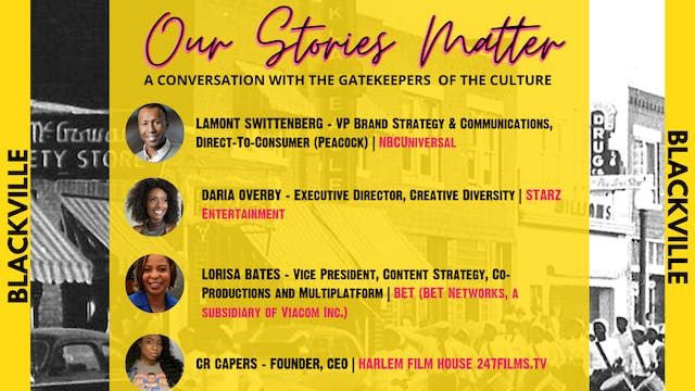 Town Hall Cypher : Our Stories Matter