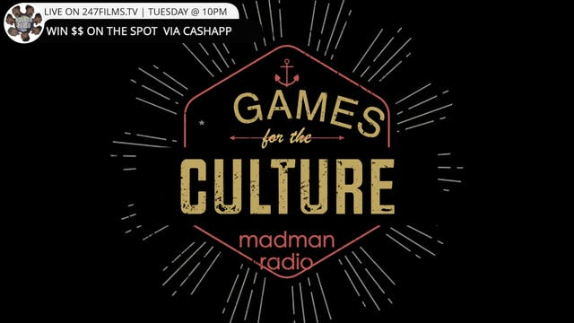 Games For The Culture - The Money Show