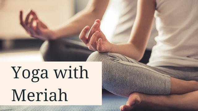 Yoga with Meriah