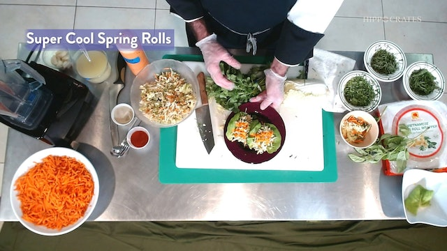 Spring Rolls with Chef Ken