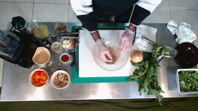 Dandelion Salad with Chef Ken Blue