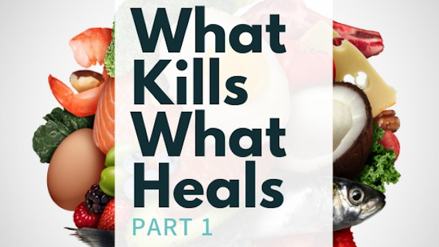 Brian Lecture What Kills What Heals Part 1