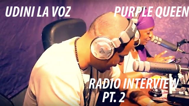 Udini LaVoz at A Moment With Purple 2