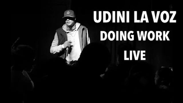 UDINI 'La Voz' Doing Work (Video Mix)
