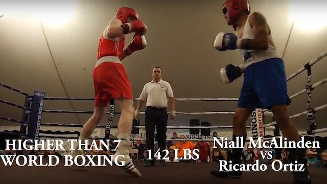 Higher Than 7 World Boxing - Niall McAlinden VS Ricardo Ortiz - 142 LBS