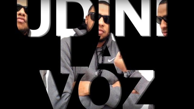 Udini La Voz - Mi Vida (Studio Session)