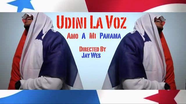 Amo A Mi Panama - Udini La Voz