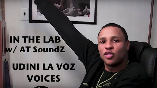 "Udini La Voz - ""VOICES"" Studio Perfor..."