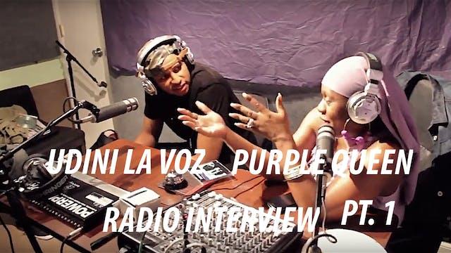 Udini La Voz Radio Interview - A Mome...