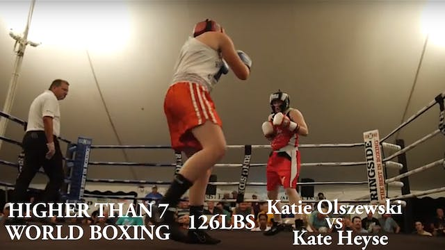 HIgher Than 7 World Boxing - Katie Ol...