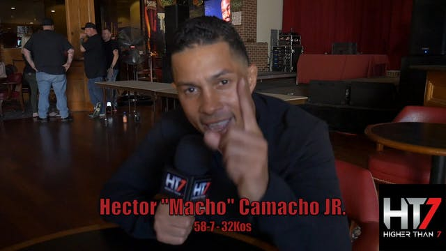"Hector ""Macho"" Camacho - Interview"