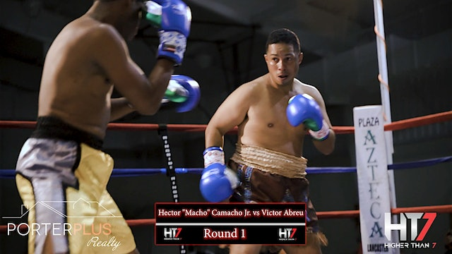 "Higher Than 7 Boxing: Hector ""Macho"" Camacho vs. Victor ""El Pollito"" Abreu"