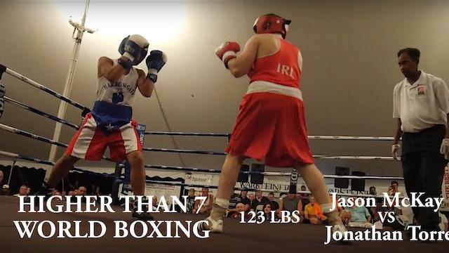 Higher Than 7 World Boxing - Jason McKay VS Jonathan Torres - 123LBS