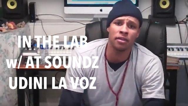 UDINI la voz - Working in the Studio