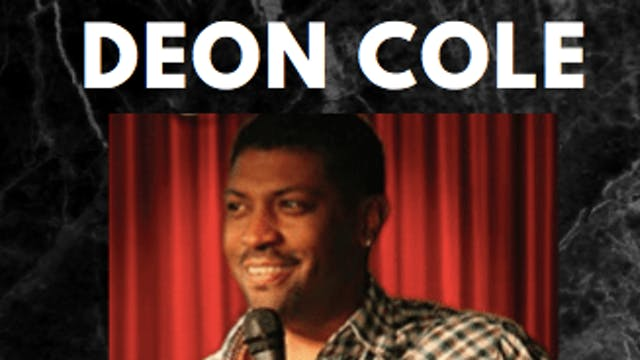 Deon Cole -  Laff House Comedy Club ...