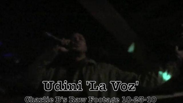 Udini La Voz Live - Raw Footage